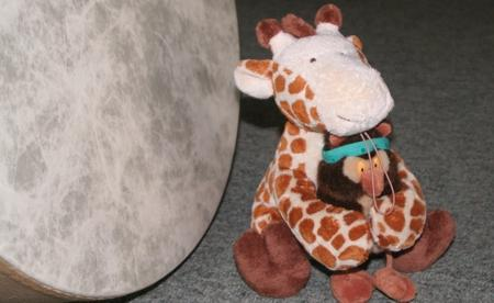 Giraffe und Schuschu