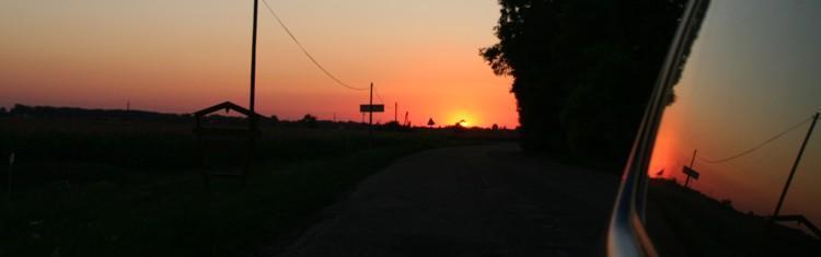 Sonnenuntergang Ungarn